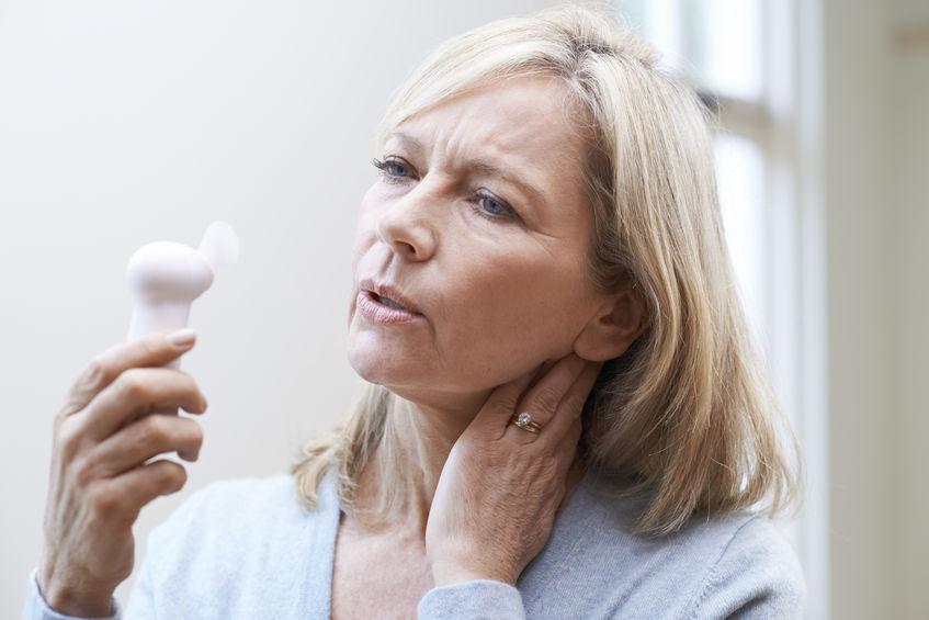menopausal woman